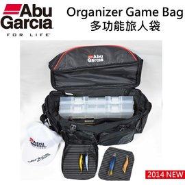 ◎百有釣具◎瑞典ABU 能Organizer Game Bag 多功能旅人袋超大的容量空間能隨意放置各項物品,輕巧設計簡約休閒