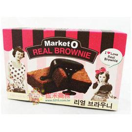 Market O布朗尼蛋糕4枚入^(巧克力^)~0216 會社~8801117250003