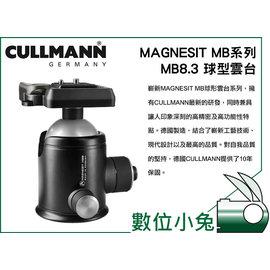 小兔 德國 CULLMANN MAGNESIT MB系列 MB8.3 ~球型 雲台 固定式