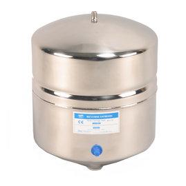【淨水工廠】【附球閥開關】【免運費】台灣製造~不銹鋼RO逆滲透純水機儲水桶(壓力桶) 4.4Gal 美國NSF歐盟CE認證