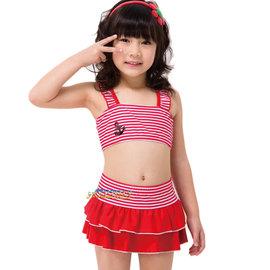 YF小女童比基尼  二件式.兩截式  泳裝.泳衣.附泳帽$ 1180~免 ~游泳.泡溫泉.