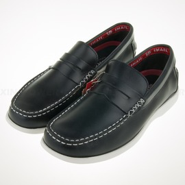 6折出清~SNAIL-休閒 真皮 舒適 帆船鞋-藍 (S-2140305)