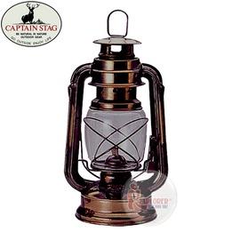 探險家戶外用品㊣M-8356 CAPTAIN STAG 日本鹿牌復古油燈 煤油燈 (黃光) 露營 氣化燈汽化燈造型