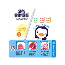 PUKU藍色企鵝滑蓋水壺替換吸管(P11318) (水壺P14611/P14612可用!!)