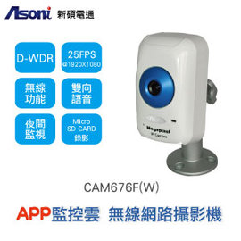 ~Asoni ~~展示機~ 1080P畫素 ~無線 ~ 攝影機 ^( CAM676F~W