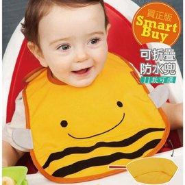 ~JC0014~美國 超大型 可愛動物園 寶寶 防水圍兜 吃飯圍兜  可折疊  畫畫衣 勞