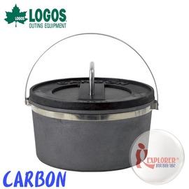 探險家戶外用品㊣NO.81062200 日本品牌LOGOS CARBON鍋 荷蘭鍋27CM 10吋 碳纖維鍋 超輕量