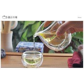 ~茶嶺古道~雙層玻璃茶海^(小^) 公道杯 分茶杯 隔熱杯 隔熱茶海 雙層玻璃 茶具