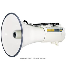 ER~68 SHOW 45W肩帶式喊話器 一年 音源輸入孔 1號電池10顆^(不附^) 加