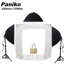 100cm 1500W三燈組Paniko 攝影棚組