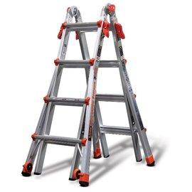 小巨人 萬用工作梯7尺-M17★一把梯子五種用途 24種變化 成人的百變金鋼