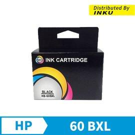 ~INKU~~HP CC641WA 60XL 黑色高容量環保墨水匣 F2410 D1660