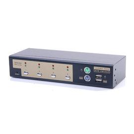 良基電腦  HANWELL 捍衛科技 SMK104U 4-Port 桌上型 PS 2