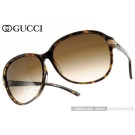 GUCCI 太阳眼镜 GG3209FS 086CC (琥珀) 高贵气质典雅女款 墨镜 # 金橘眼镜