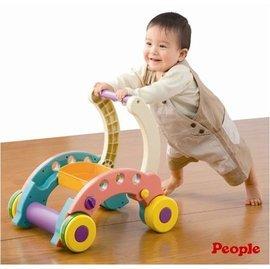 【紫貝殼】『PEOPLE21』日本 People 折疊式簡易學步車【親子討論區熱烈反應推薦】