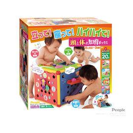 【紫貝殼】『PEOPLE18』日本 people 動動腦力體力玩具箱【親子討論區熱烈反應推薦】