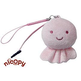 Nicopy~天氣系列 手機螢幕擦吊飾~晴天娃娃
