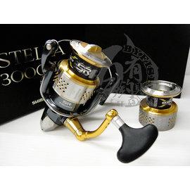 ◎百有釣具◎SHIMANO STELLA 3000HG +4000型線盃  雙線杯頂級捲線器  特價中