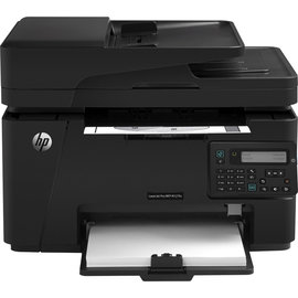HP LaserJet M127fs 黑白雷射傳真複合機~辦公室 ▃▄四合一∥高速傳真∥內