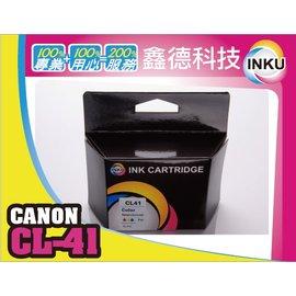 ~INKU~~Canon 彩色環保墨水匣 CL~41 iP1200 iP1300 iP17