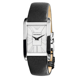 ~EMPORIO ARMANI~ 超薄系列方形女士腕錶^(AR2031^)
