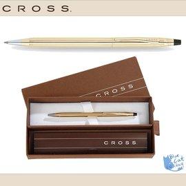 【藍貓BlueCat】【CROSS鋼筆】4502 經典世紀系列 10K包金原子筆(0.7mm)/支鋼筆/鋼珠筆/對筆/套筆/萬寶隆/派克