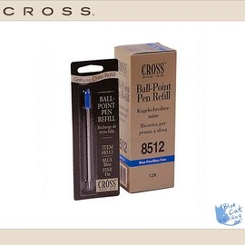 【藍貓BlueCat】【CROSS鋼筆】8512-原子筆芯(藍)(0.5mm)/支鋼筆/鋼珠筆/對筆/套筆/萬寶隆/派克