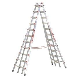 小巨人 摩天梯21尺-M21★特殊橡膠腳墊 防止梯子滑動★適用於高空作業