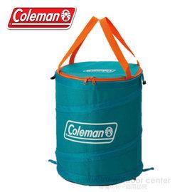 【美國 Coleman】萬用魔術桶/壓縮摺疊桶.彈力筒.置物桶.露營收納桶.食物儲存桶.垃圾桶.多用途RV筒_ CM-5603 藍