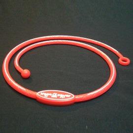 Nano α Power牌型矽項圈~A103洋紅
