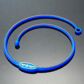 Nano α Power牌型矽項圈~A104寶藍