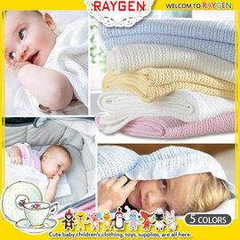 毯子  柔軟 透氣 編織 蓋毯 洞洞毯 嬰兒被 【HH婦幼館】