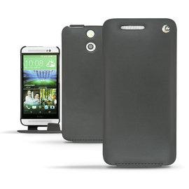 NOREVE HTC One E8 下掀式皮套 保護套 客製化 腰掛 保護殼 手工訂製 法國頂級手機皮套 專賣店