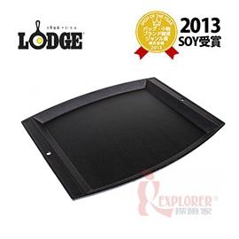 探險家戶外用品㊣LJSCP3 美國製LODGE 多用途大型鑄鐵炒盤 鐵板燒煎盤BBQ烤盤 (免開鍋)