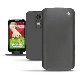 NOREVE LG G2 mini 下掀式皮套/保護套 手工訂製 法國頂級手機皮套 客製化 腰掛式皮套