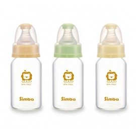 Simba小獅王辛巴 超輕鑽標準玻璃小奶瓶-120ml (S6904)