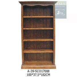 A~39~SCO17008 開放中書櫃 ~ 藝所 家飾館 傢俱 燈飾 壁飾 擺飾 時鐘 居