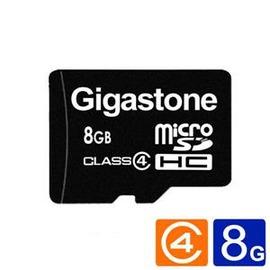 ~綠蔭~全店 ~Gigastone MicroSDHC Class4 8G記憶卡 附轉卡