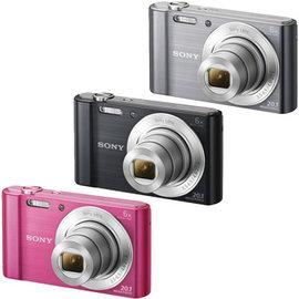 SONY DSC~W810高畫質 相機^( 貨^) 32G 座充 電池 小腳架 讀卡機 保