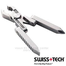 【美國 Swiss + Tech】Micro-Tech 6-In-1 多功能工具組6合1.隨身多用途工具組/鉗子.剪電線鉗.剝線鉗.鐵皮剪.螺絲起子/ST50022