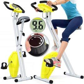 【SAN SPORTS 山司伯特】寶馬X折疊健身車C082-918 (室內腳踏車.摺疊美腿機.運動健身器材.推薦哪裡買)