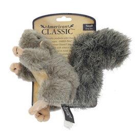 美國犬業協會AKC 製作 狩獵感擬真絨毛動物玩偶 啾啾松鼠S ^(小型犬用^)