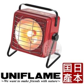 探險家戶外用品㊣630020 日本 UNIFLAME 方形暖爐 (日本製)  電子點火瓦斯暖爐 取暖烤爐替代焚火台新選擇