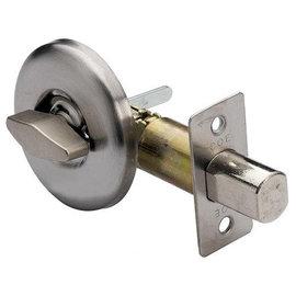FOLO輔助鎖型大圓半邊鎖(無鑰匙)★白鐵砂面★安裝容易 使用方便