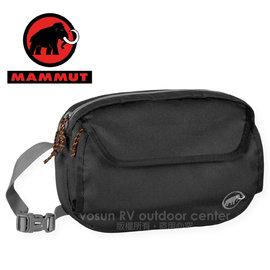 【瑞士 MAMMUT 長毛象】Add-on Chest Bag 快拆式胸前包(可當腰包/附防雨罩)_登山胸前袋.外掛登山背包.自助旅行 非osprey 00090-0001 黑