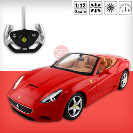 ~瑪琍歐玩具~1:12 Ferrari California遙控車