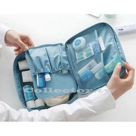 ~G14072203~ ~第 大容量多收納位旅行用洗漱包 化妝包 手提多 旅行包
