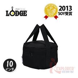 探險家戶外用品㊣A1-10 美國LODGE 10吋荷蘭鍋提袋 鑄鐵鍋收納袋 攜行袋 鍋袋 裝備袋餐具袋