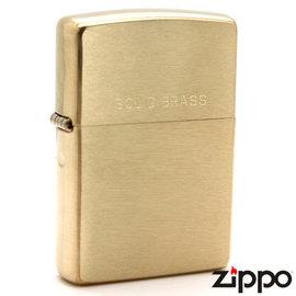 ZIPPO SOLID BRASS 純銅 防風打火機 單面刻字免費 免運