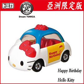 ~Dream TOMICA~亞洲限定Happy Birthday HELLO KITTY